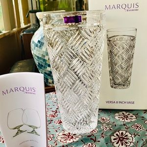 Marquis by Waterford VERSA 8IN Lead Crystal Vase